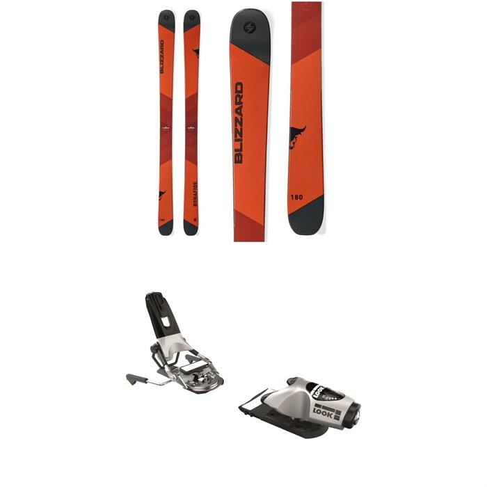 Blizzard - Bonafide Skis + Look Pivot 18 Ski Bindings