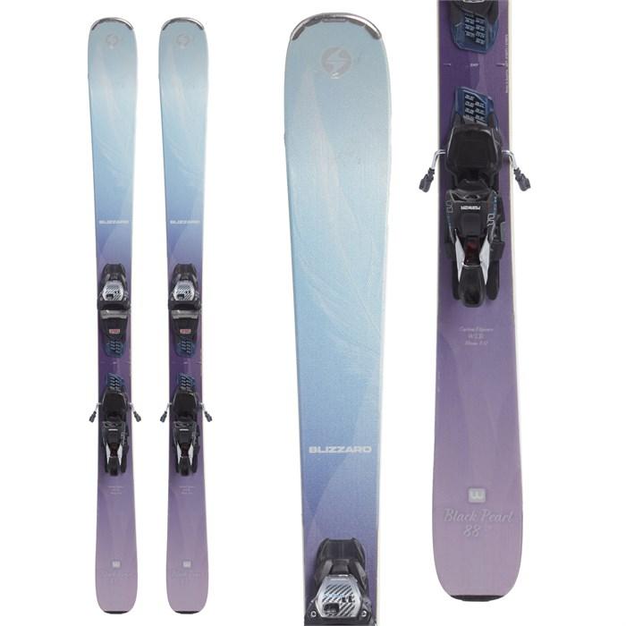 Blizzard Black Pearl 88 Skis + Marker TCX 11.0 Demo