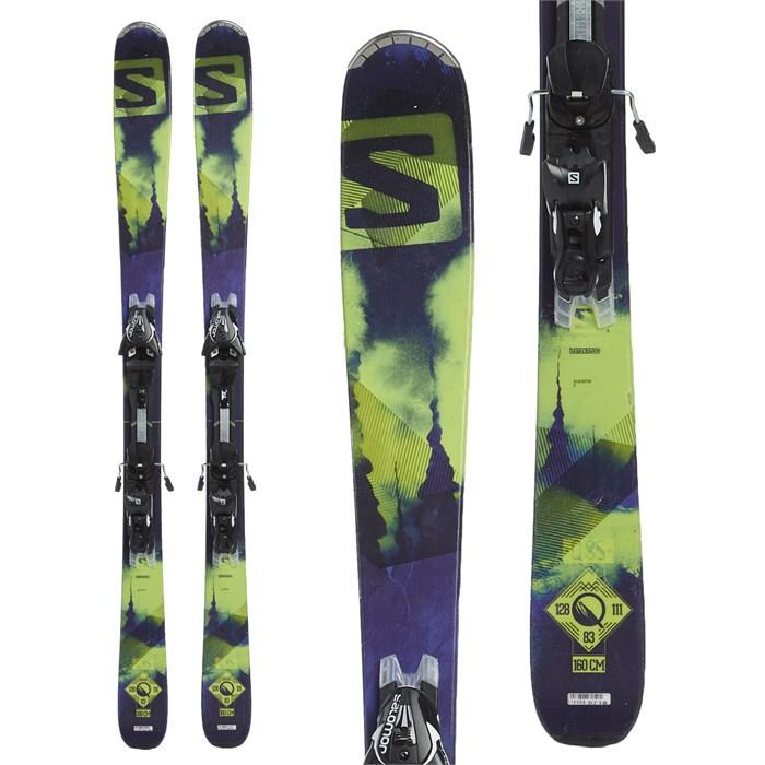 Salomon - Q-85 Skis + Salomon Z12 Demo Bindings 2015 - Used