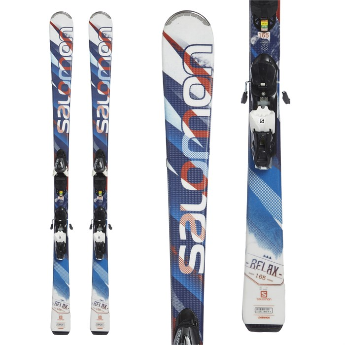 Salomon - Relax Skis + L10 Bindings 2015 - Used