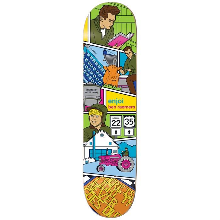 Enjoi - Raemers Veejay 8.375 Skateboard Deck