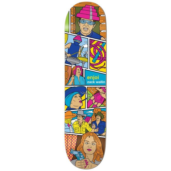 Enjoi - Wallin Veejay 8.25 Skateboard Deck