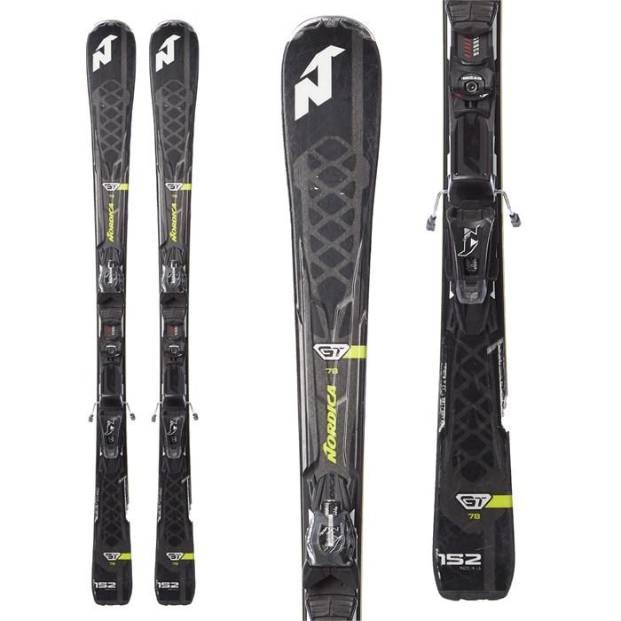 Nordica - GT 78 Skis + N ADV P.R. EVO Bindings 2018 - Used