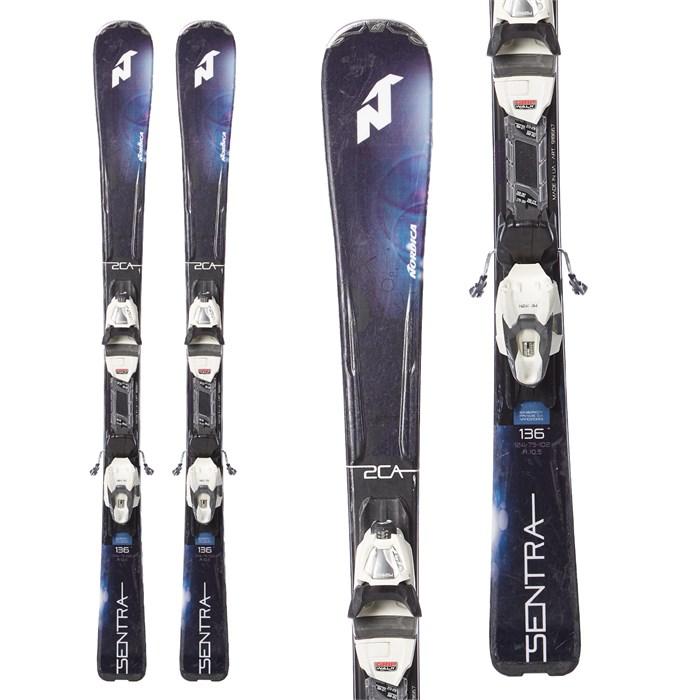 Nordica - Sentra 2 Skis + TLT 10 Bindings - Women's 2018 - Used
