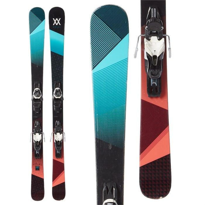 Volkl - Yumi Skis + Atomic Lithium 10 Demo Bindings - Women's 2017 - Used