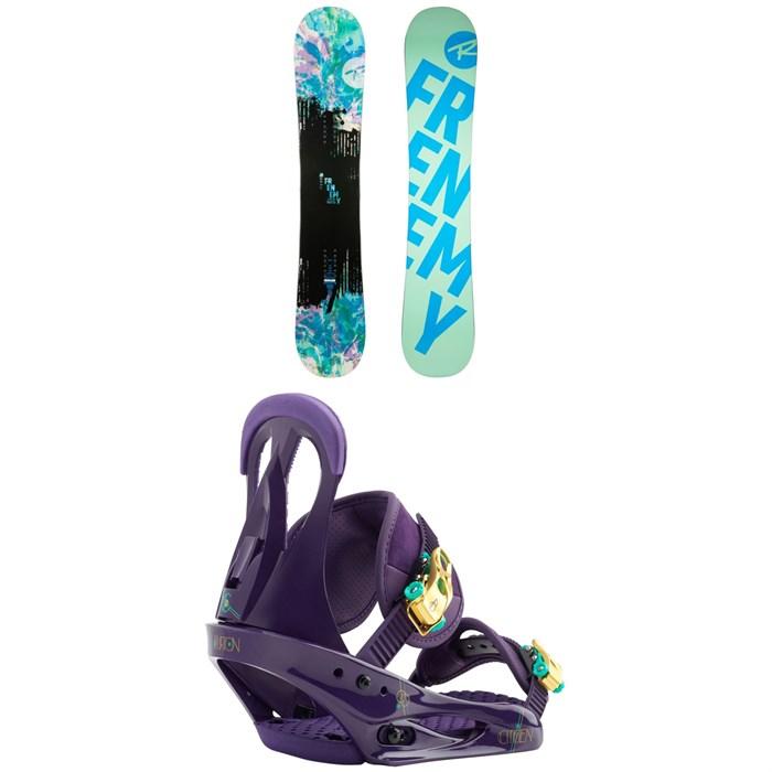 Rossignol - Frenemy Snowboard - Women's + Burton Citizen Snowboard Bindings - Women's 2019