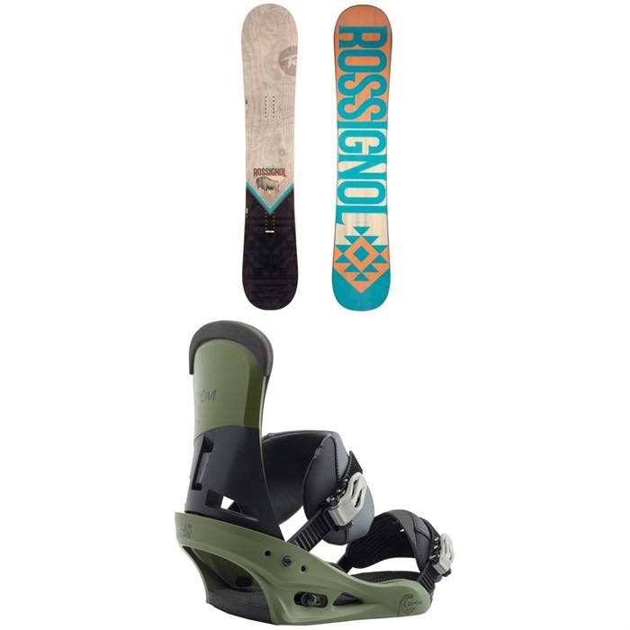 Rossignol - Templar Snowboard + Burton Custom Snowboard Bindings 2019