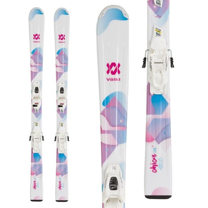 Volkl - Chica Skis + 7.0 vMotion Jr Bindings - Girls' 2020