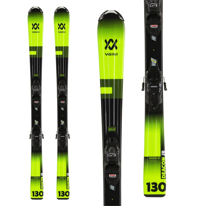 Volkl - Deacon Junior Skis + 7.0 vMotion Jr Bindings - Boys' 2020