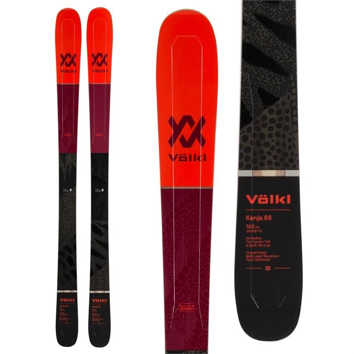 Volkl - Kenja 88 Skis - Women's 2020 - Used