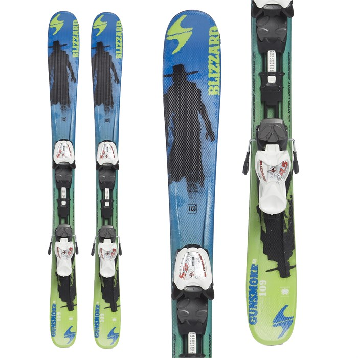 Blizzard - Gunsmoke Jr Skis + IQ 4.5 Bindings - Little Boys' 2015 - Used
