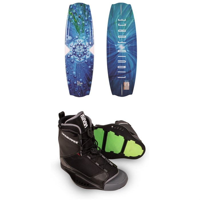Liquid Force - Trip Wakeboard + Transit Wakeboard Bindings 2019