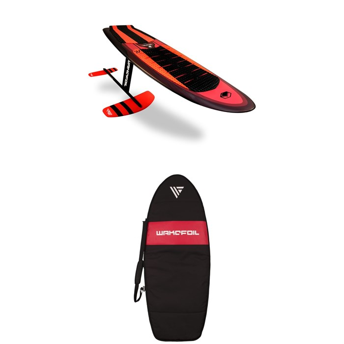 WAKEFOIL - SS AK Complete Wakefoil Package + WAKEFOIL Board Travel Bag 2019