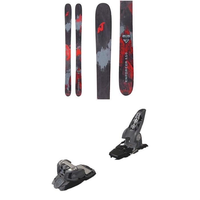 Nordica - Enforcer 110 Skis 2019 + Marker Griffon Ski Bindings 2016
