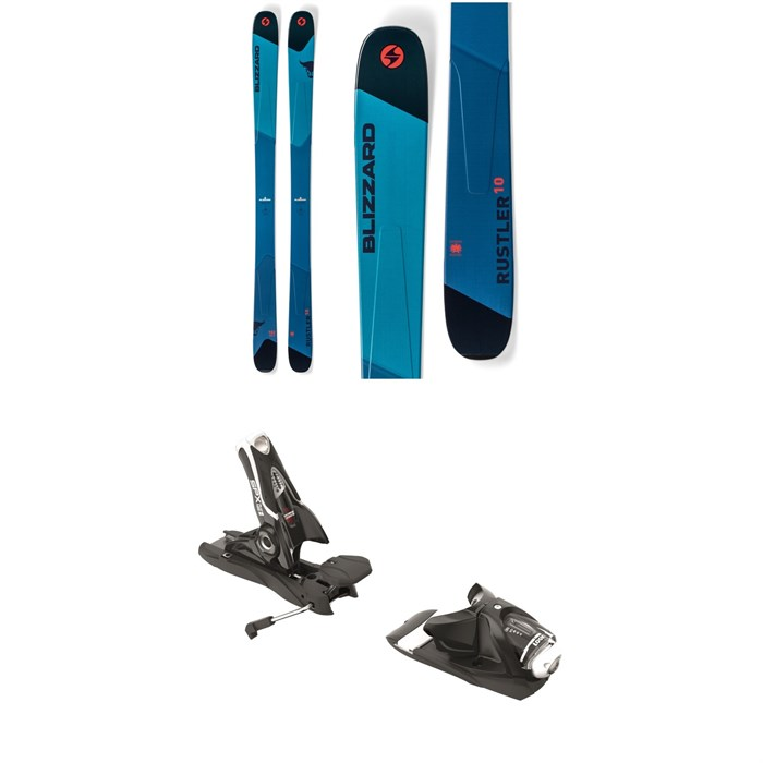 Blizzard - Rustler 10 Skis 2019 + Look SPX 12 Dual Bindings 2019