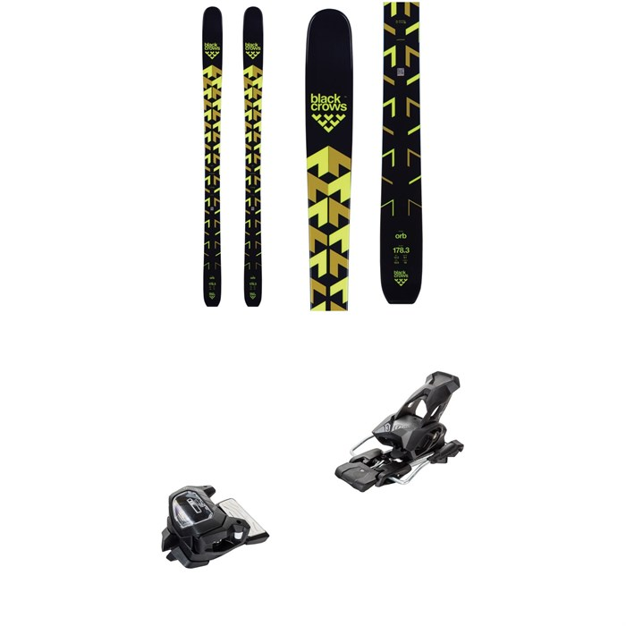 Black Crows - Orb Skis + Tyrolia Attack² 13 GW Ski Bindings 2019