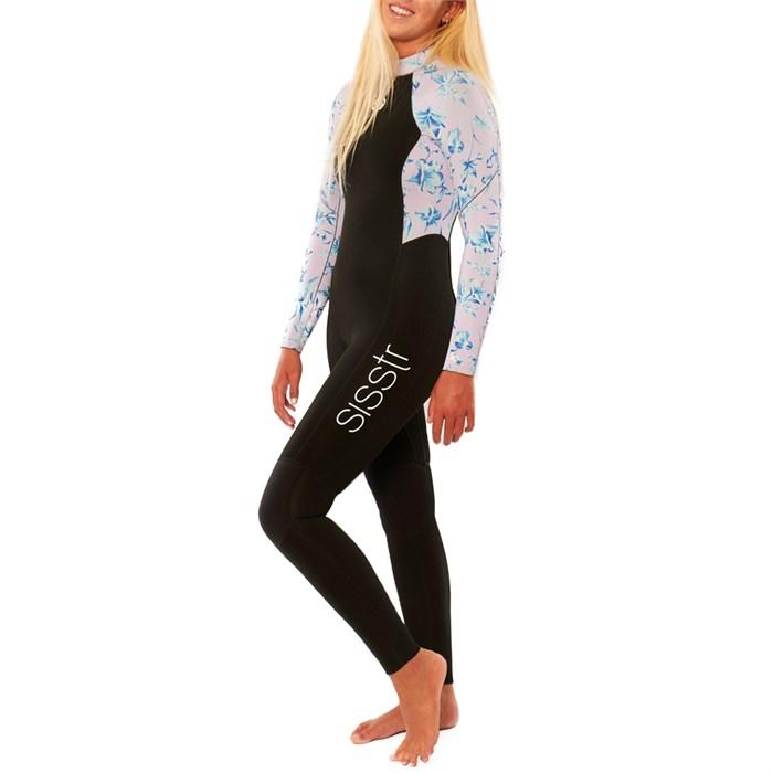 Sisstrevolution - 3/2 7 Seas Print Wetsuit - Girls'