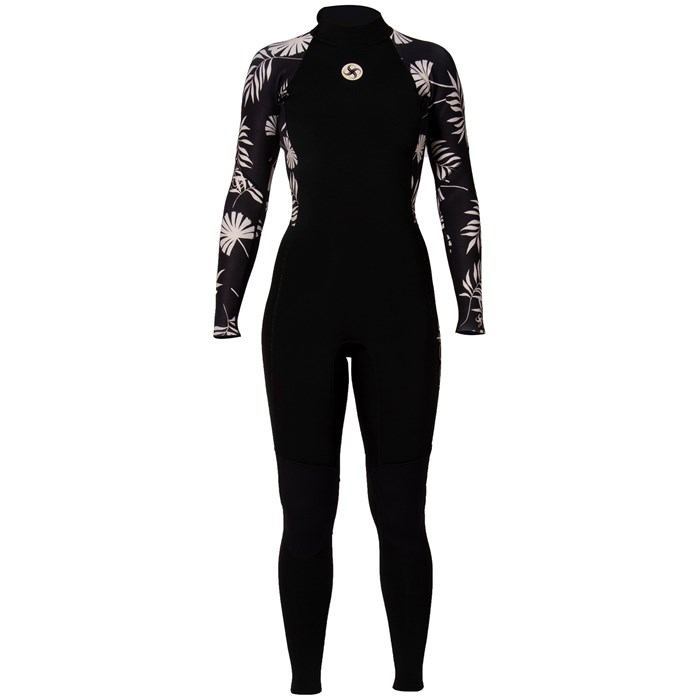 Sisstrevolution - SISSTR 3/2 7 Seas Print Back Zip Wetsuit - Women's
