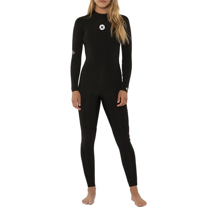 Sisstrevolution - 3/2 7 Seas Print Back Zip Wetsuit - Women's
