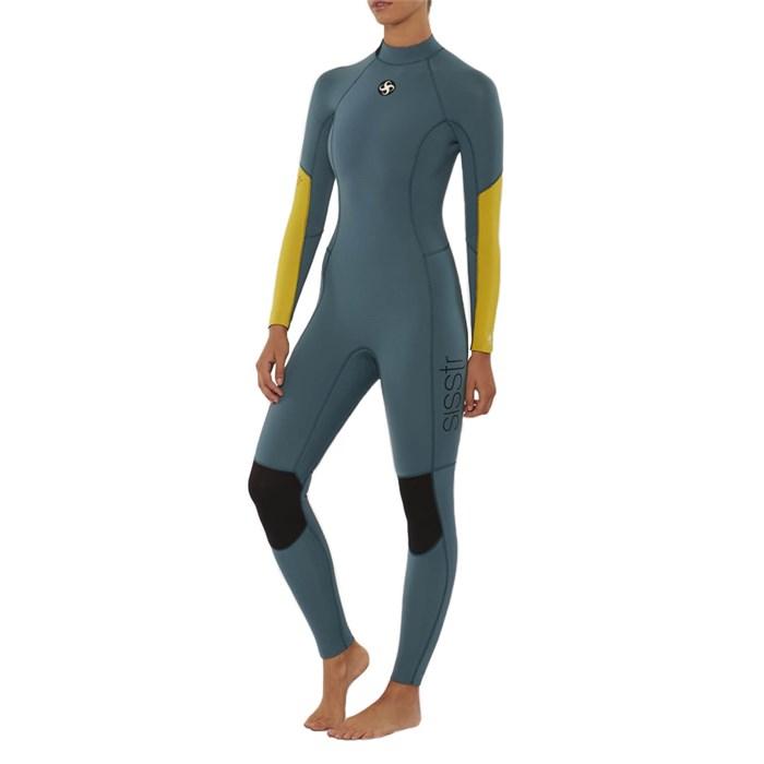 Sisstrevolution - 4/3 7 Seas Back Zip Wetsuit - Women's