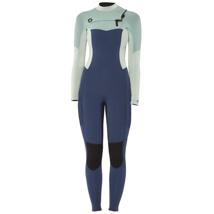 Sisstrevolution - 4/3 7 Seas Chest Zip Wetsuit - Women's
