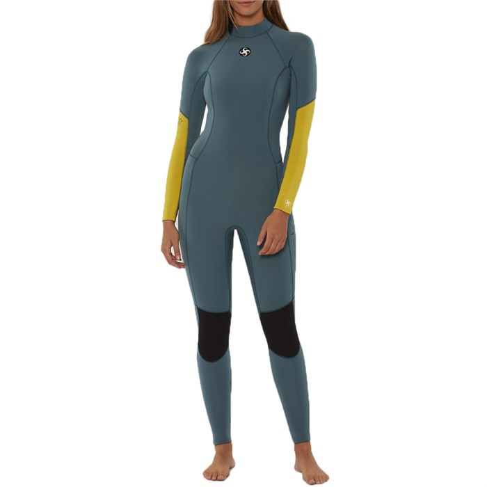 Sisstrevolution - 3/2 7 Seas Back Zip Wetsuit - Women's