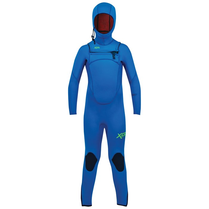 XCEL - 4.5/3.5 Comp Hooded Wetsuit - Boys'
