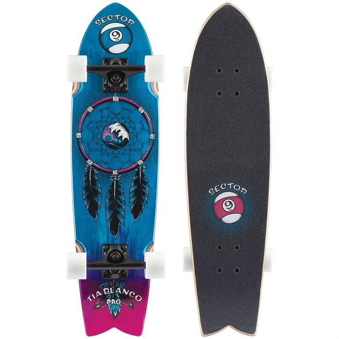 Sector 9 - Feather Tia Pro Cruiser Skateboard Complete