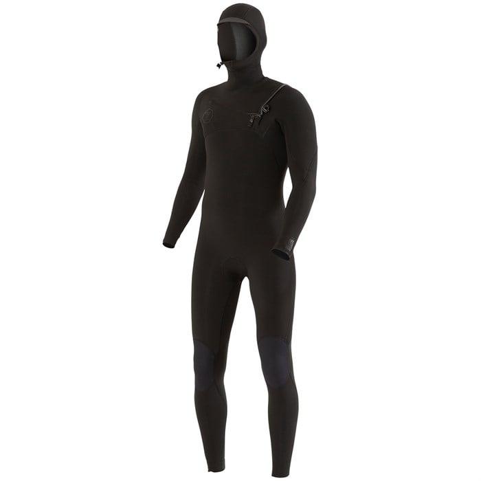 Vissla - 7 Seas 4/3 Chest Zip Hooded Wetsuit