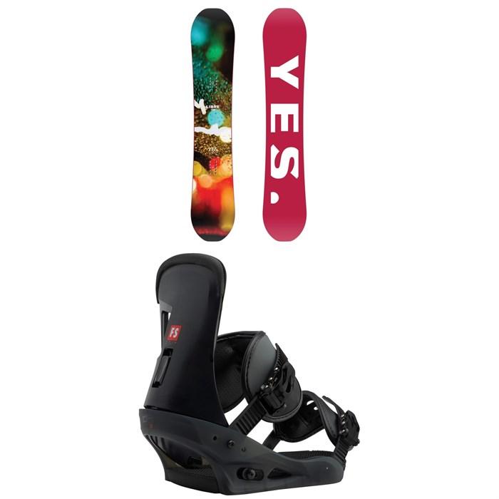 Yes. - Libre Snowboard + Burton Freestyle Snowboard Bindings 2019