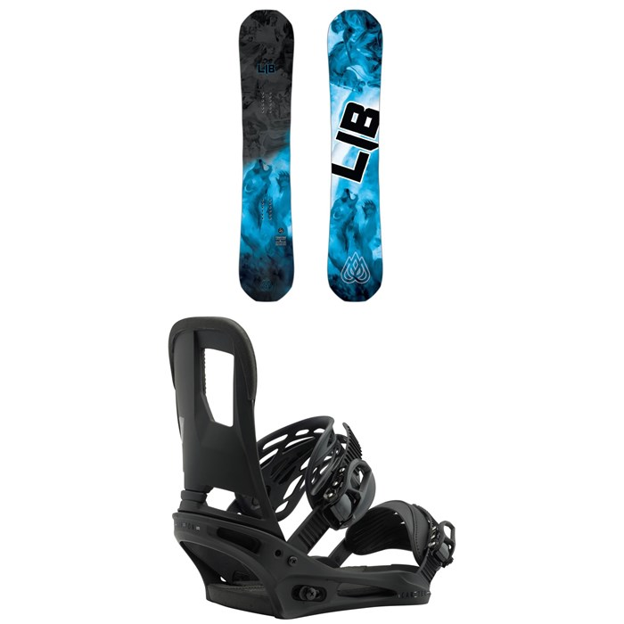 Lib Tech - T.Rice Pro HP C2 Snowboard + Burton Cartel Snowboard Bindings 2019