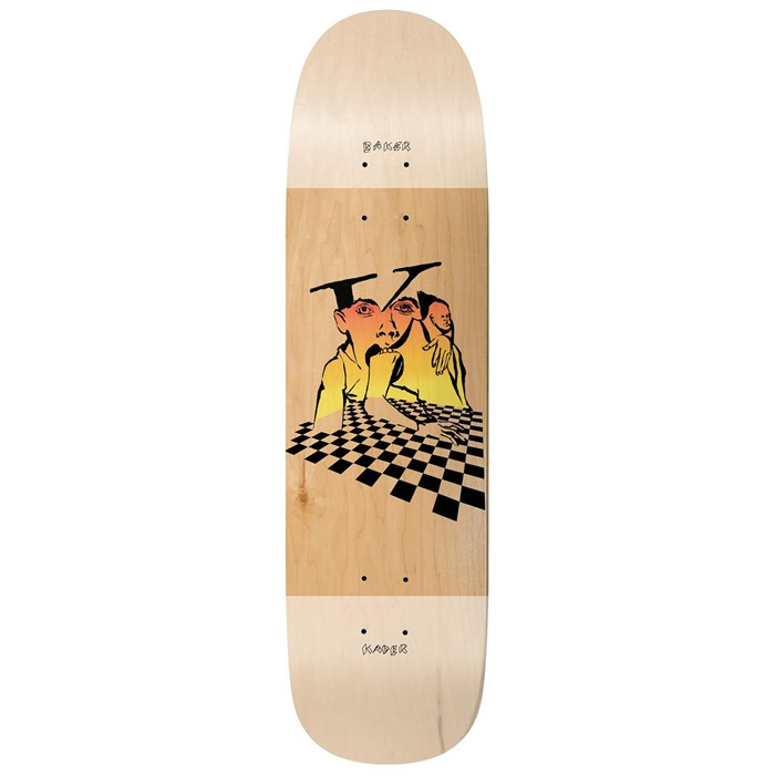 Baker - Kader Mind Bends 9.6 Skateboard Deck