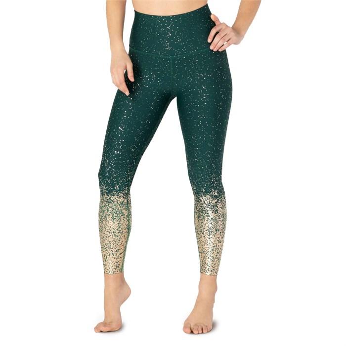 Beyond Yoga - Alloy Ombre High-Waisted Midi Leggings - Women's