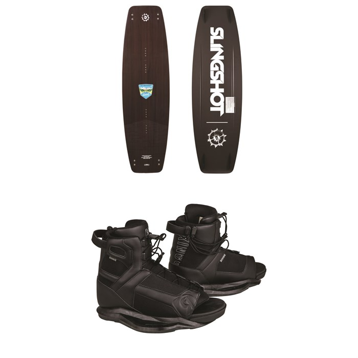 Slingshot - Nomad Wakeboard + Ronix Divide Wakeboard Bindings 2019