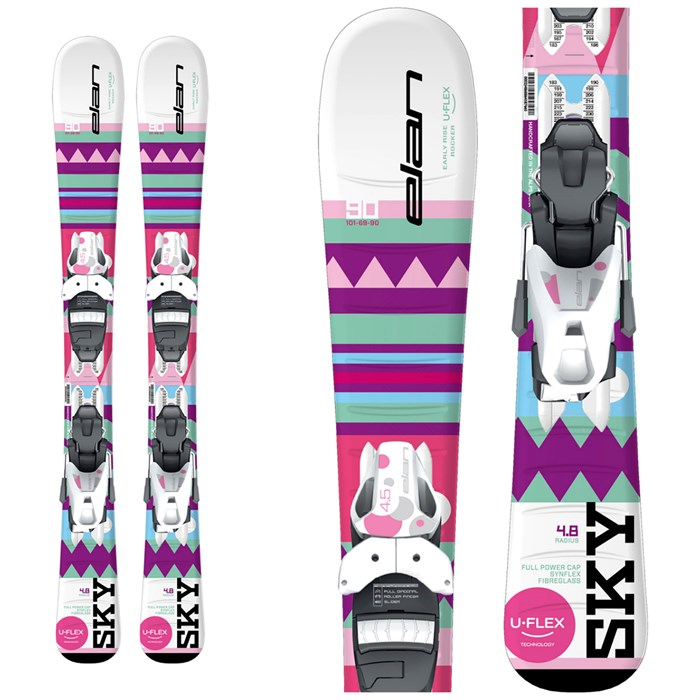 Elan - Sky QS Skis + EL 4.5 Bindings - Little Girls' 2019