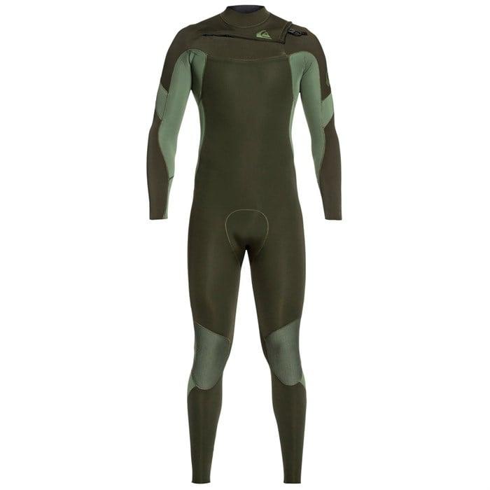Quiksilver - 4/3 Syncro Chest Zip GBS Wetsuit