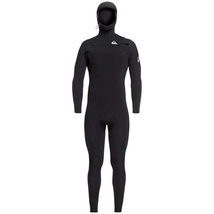 Quiksilver - 5/4/3 Syncro Chest Zip GBS Hooded Wetsuit