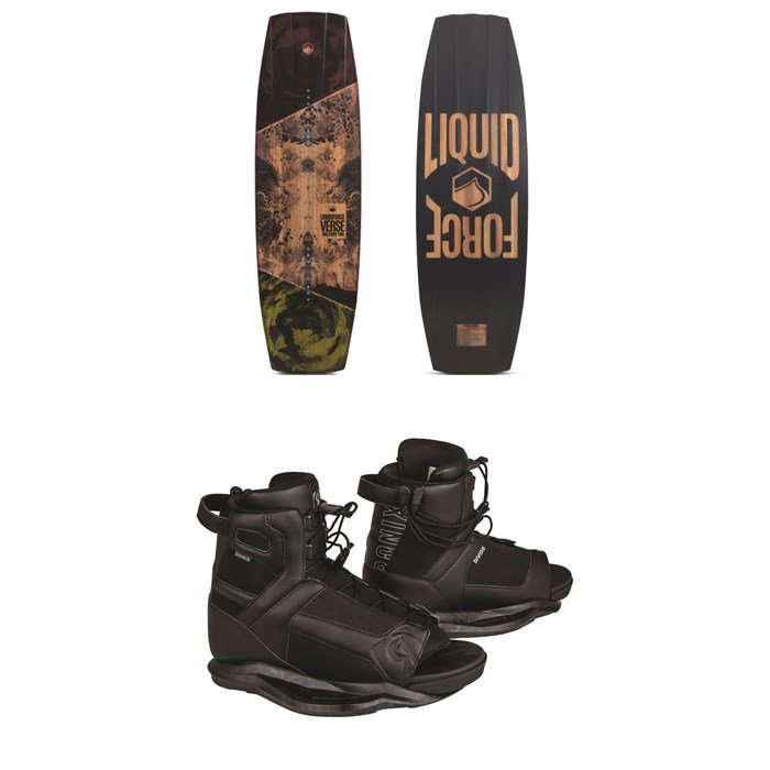 Liquid Force - Verse Wakeboard + Ronix Divide Wakeboard Bindings