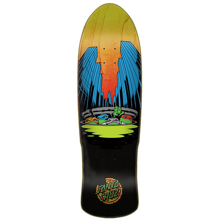 Santa Cruz - TMNT Ninja Turtles Preissue 9.42 Skateboard Deck