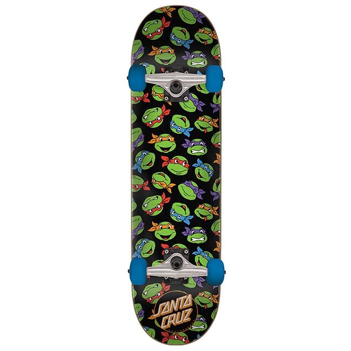 Santa Cruz - TMNT Allover Turtle 8.0 Skateboard Complete