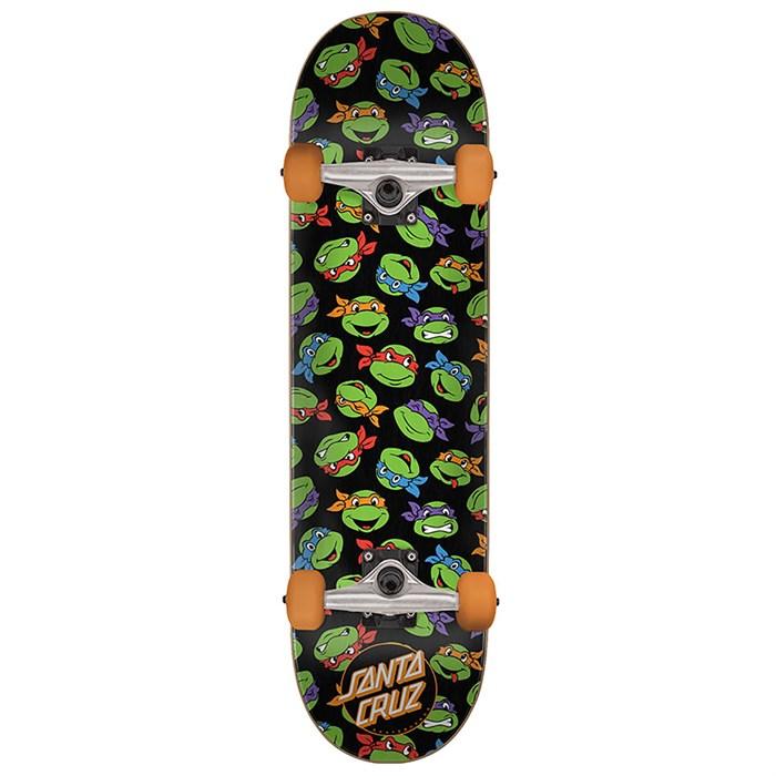 Santa Cruz - TMNT Allover Turtle 7.75 Skateboard Complete