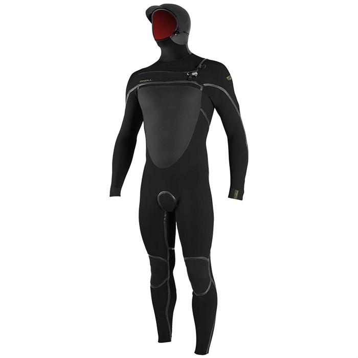 O'Neill - 5.5/4+ Psycho Tech Chest Zip Hooded Wetsuit