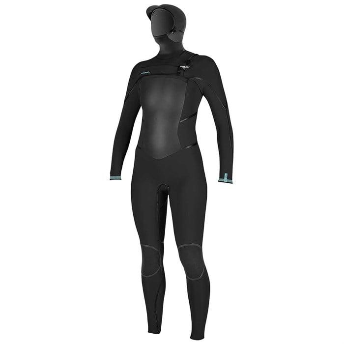 O'Neill - 5.5/4+ Psycho Tech Chest Zip Hooded Wetsuit - Women's