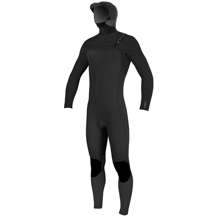 O'Neill - 5/4+ Hyperfreak Chest Zip Hooded Wetsuit