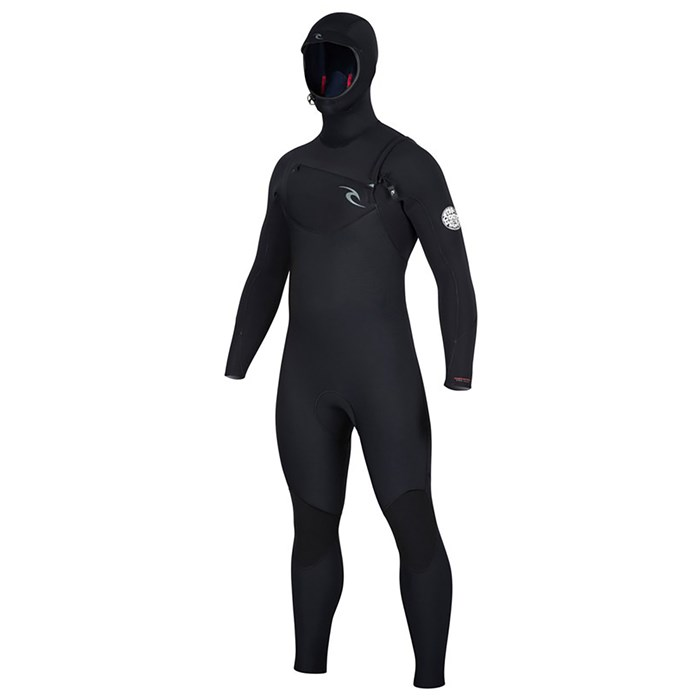 Rip Curl - 5/4 Dawn Patrol Chest Zip Hooded Wetsuit