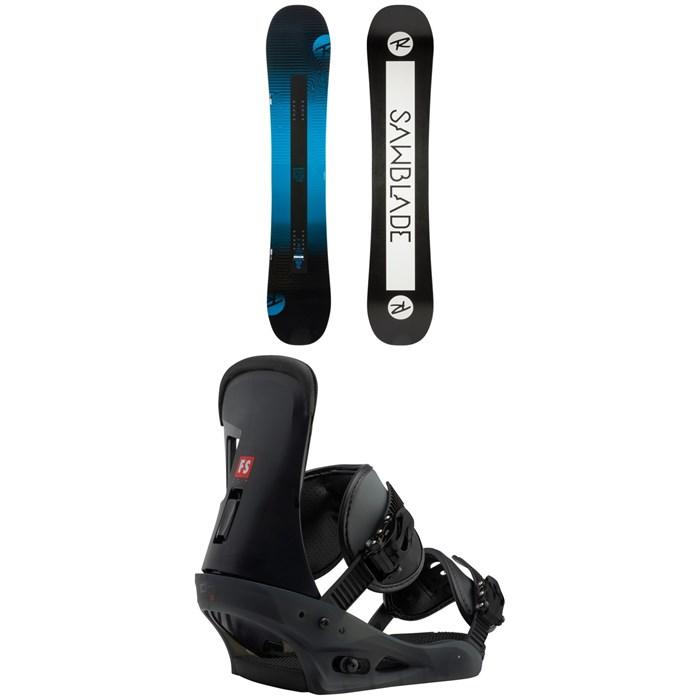 Rossignol - Sawblade Snowboard + Burton Freestyle Snowboard Bindings 2019