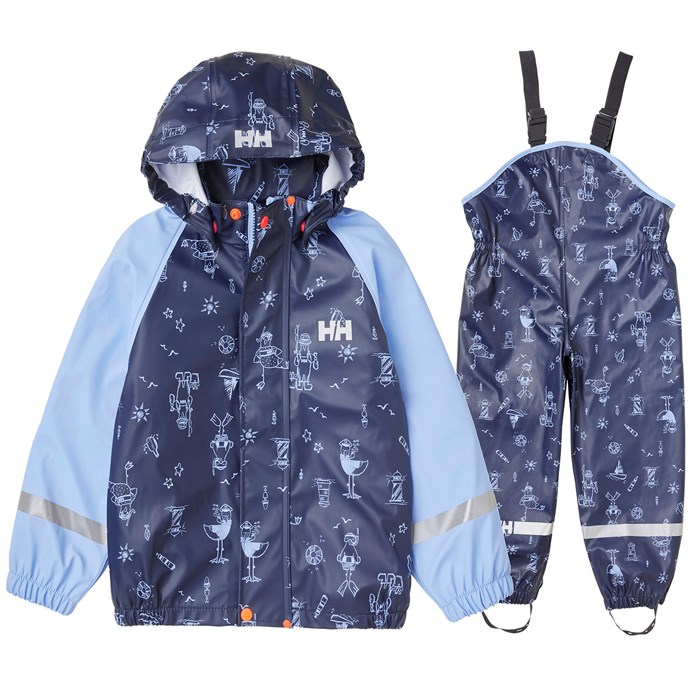 Helly Hansen - Bergen AOP PU Rainset - Little Kids'