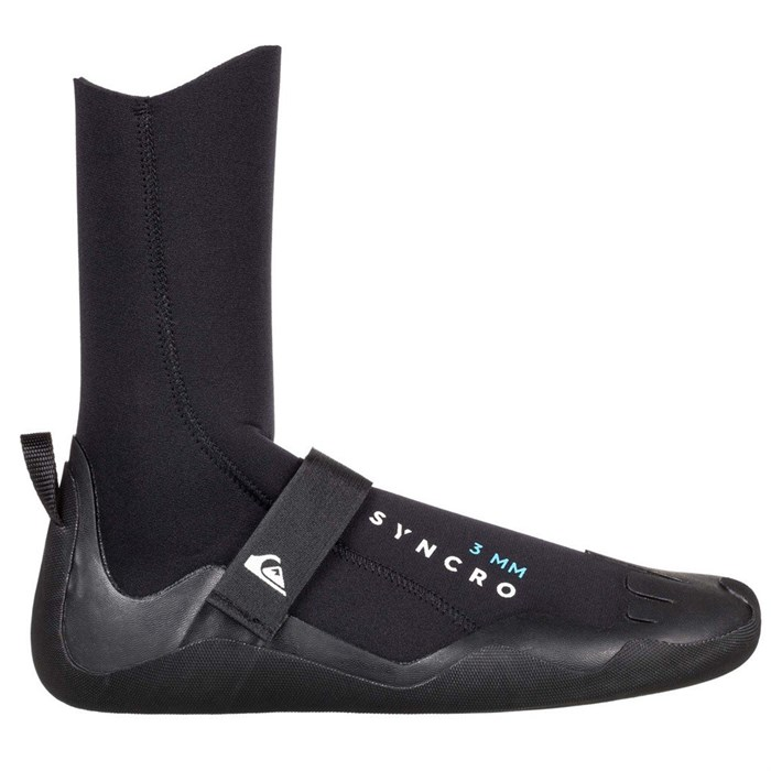Quiksilver - 3mm Syncro Round Toe Wetsuit Boots