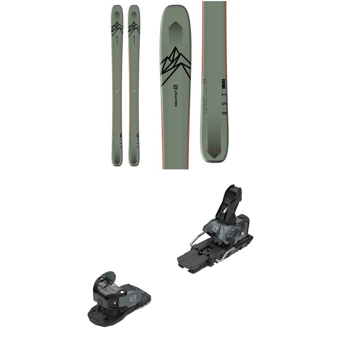 Salomon - QST 106 Skis + Warden MNC 13 Ski Bindings 2020