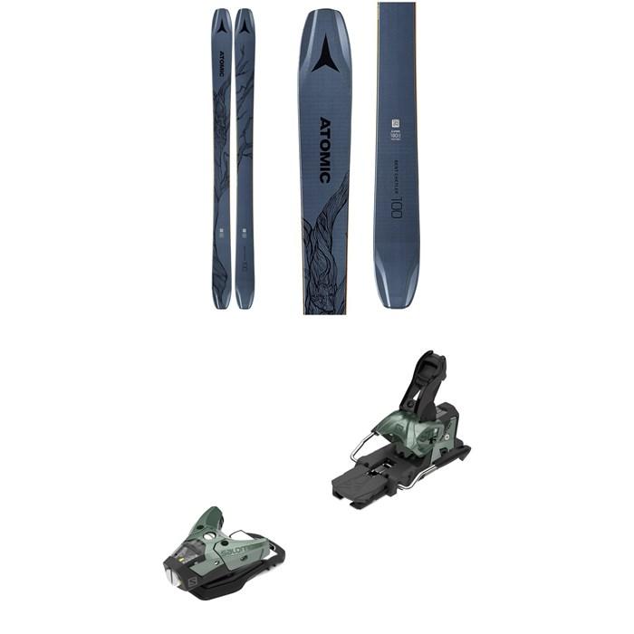 Atomic - Bent Chetler 100 Skis + Salomon STH2 WTR 16 Alpine Bindings 2020